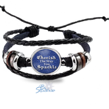 """Cherish The Way You Sparkle"" Bracelets"