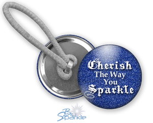 """Cherish The Way You Sparkle"" Ponytail Holders"
