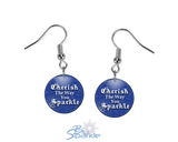 """Cherish The Way You Sparkle"" Earrings"