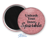 """Unleash Your Inner Sparkle"" Magnets"