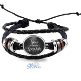 """You Simply Sparkle"" Bracelets"