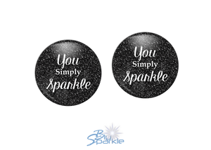 """You Simply Sparkle"" Earrings"