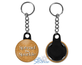 """Spread the Sparkle"" Key Chains"