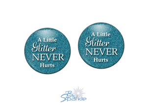 """A Little Glitter Never Hurts"" Earrings"