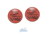 """Another Day, Another Chance to Sparkle"" Earrings"