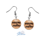 """Enjoying The Journey"" Earrings"