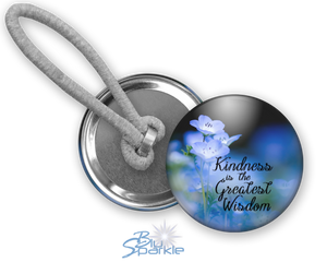 """Kindness Is The Greatest Wisdom"" Ponytail Holders"