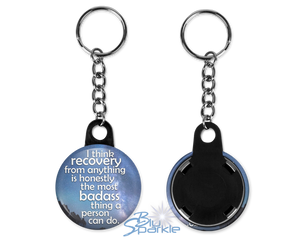 """Kindness Is The Greatest Wisdom"" Key Chains"