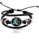 "Personalized ""Recovery is Living Your Sobriety One Day at at Time"" Bracelets"