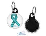 Personalized Awareness Ribbon Key Chain