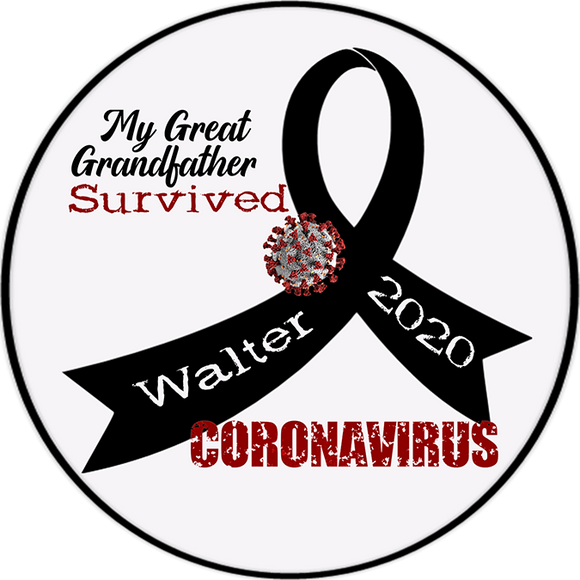 Personalized Survived Coronavirus 4.5