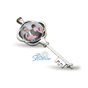 Personalized Photo Key Pendants
