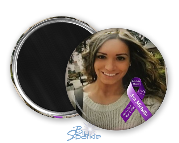 Personalized Awareness Ribbon & Photo Magnets