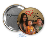 Personalized Photo Pinback Buttons