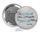 Personalized Quote Pinback Buttons