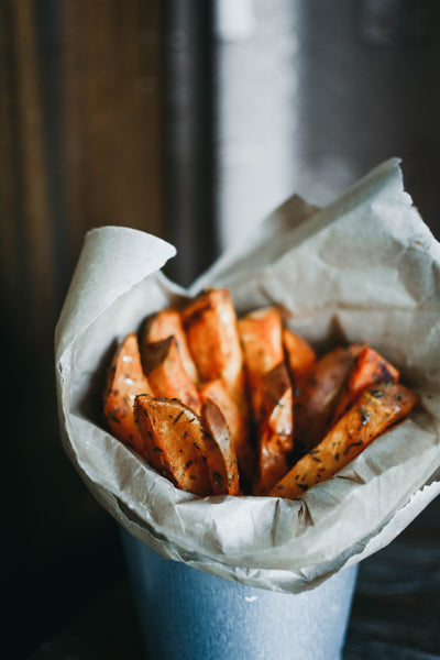 Sweet Potato Chips 10mm 2kg