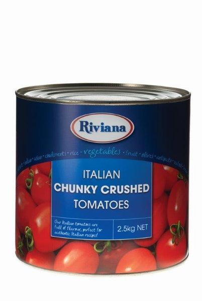 Tomato Chunky Crushed 2.5kg