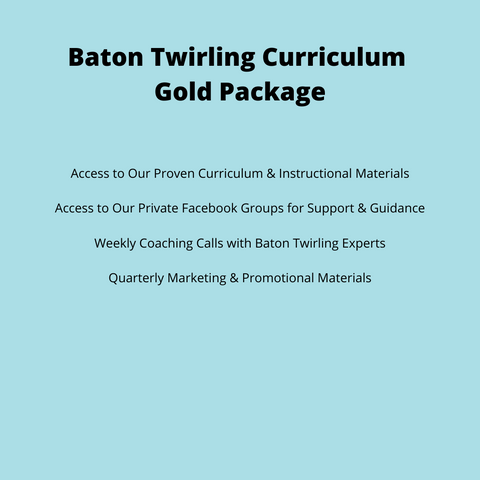 Baton Twirling Curriculum - Gold Package