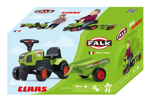 Falk Baby Claas tractor with trailer