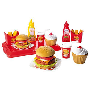 Ecoiffier Burger Set