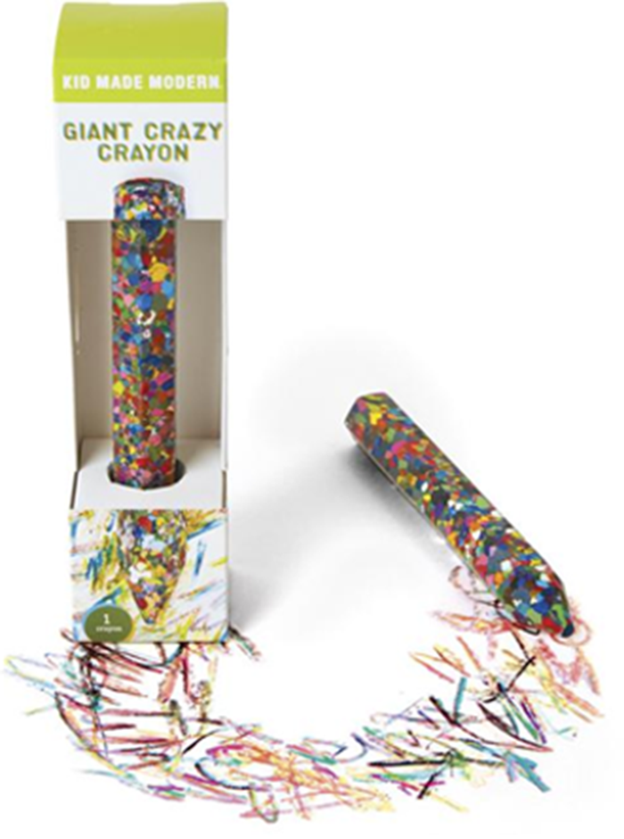 Kid Made Modern Giant Crazy Crayons