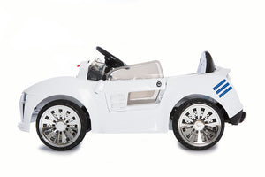 Kids@Play White Sports Car 6V