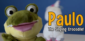 Paulo the Singing Crocodile!
