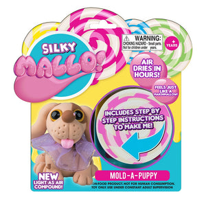 Mallo Silky Mallo Mold-a-Pet Playset - 6 Assorted