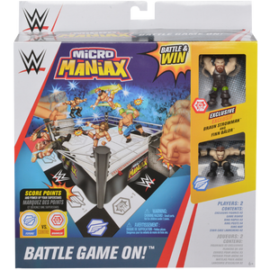 WWE Micro Maniax Battle Game On