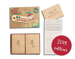 Elf for Christmas Advent Letters - Third Edition (2019)
