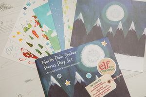 Elf for Christmas North Pole Christmas Sticker Fun Set