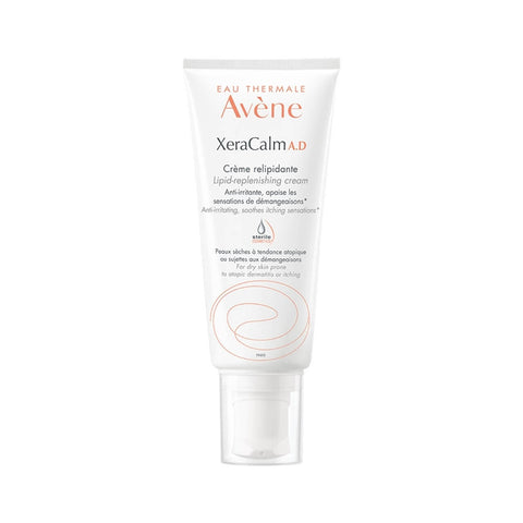 Tube Of Avène XeraCalm A.D Lipid-Replenishing Cream Product