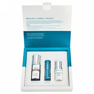 Box with Colorescience Even Up Corrective Kit for Pigmentation