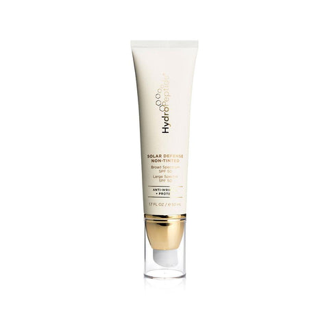Tube Of HydroPeptide Solar Defense Non-Tinted SPF 50 Product