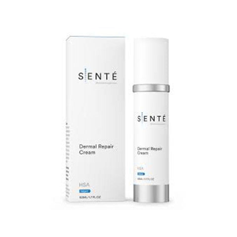 Container And Packaging Of Sente Dermal Repair Cream Product