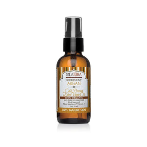 Bottle Of Shea Terra Moroccan Argan Oil Product