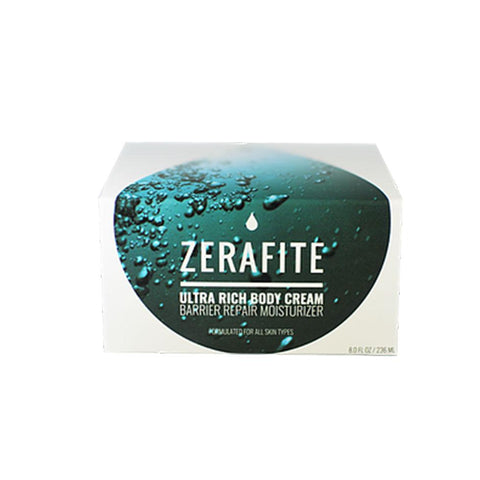 Box With Jar Of ZeraFite Ultra Rich Body Cream Product