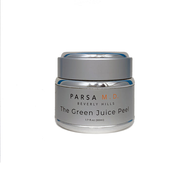 Jar Of Parsa MD The Green Juice Peel Product