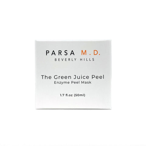 Packaging of Parsa MD The Green Juice Peel Product