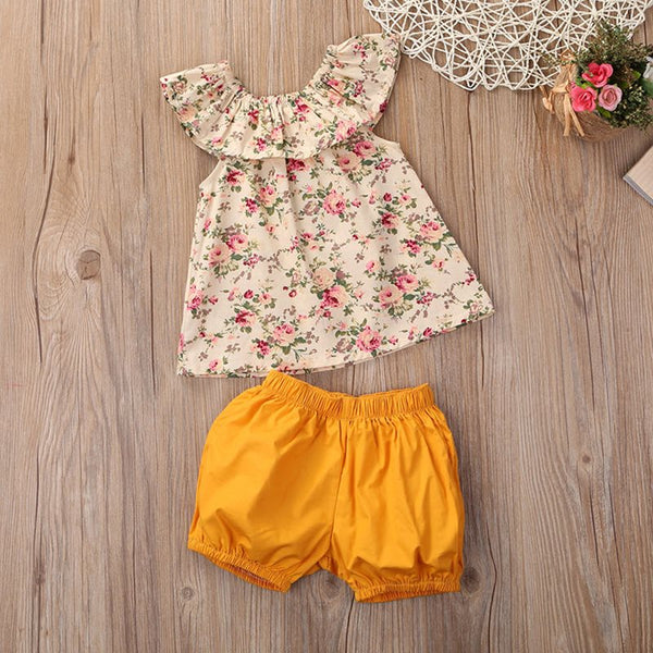 Summer Newborn Baby Girl Clothes Sets Outfits | KIDZOYA