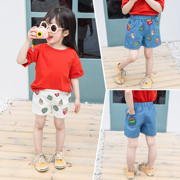Children''s Summer 2020 Girls Shorts Children''s Leisure Hamburg Shorts Girls''Fashion | KIDZOYA