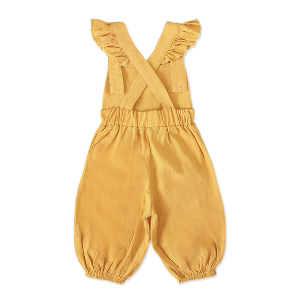 Solid color jumpsuit | KIDZOYA