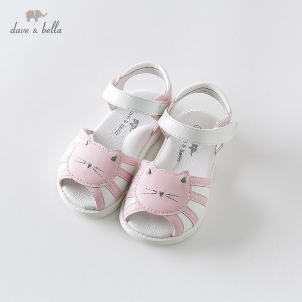 DB13474 Summer Baby Girls Fashion Sandals New Born Infant Shoes