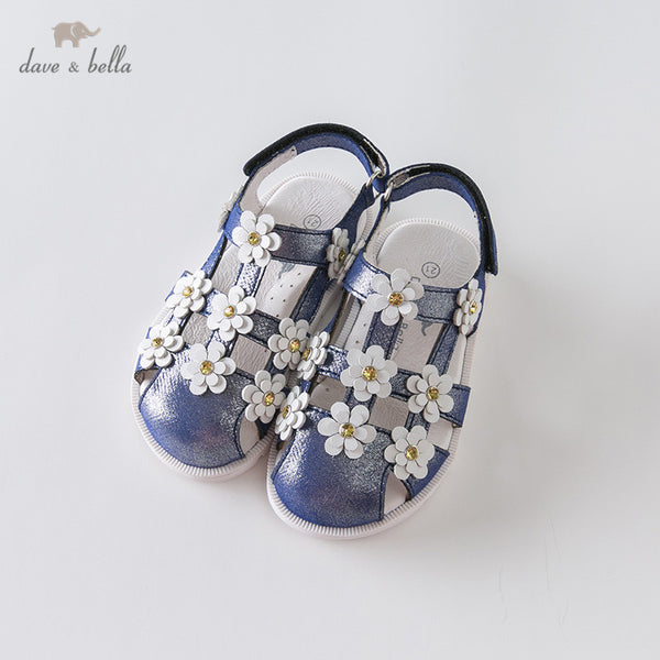 DB12879 Summer Baby Girls Fashion Sandals New Born Infant Shoes | KIDZOYA