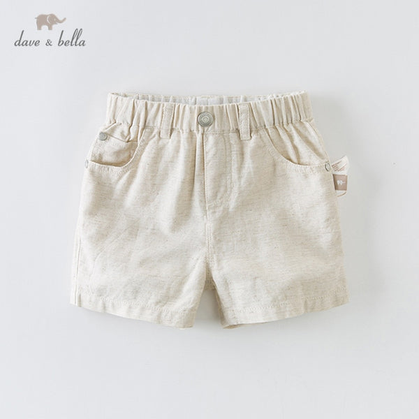 DBA12515 Summer Baby Boys Fashion Solid Pockets Shorts