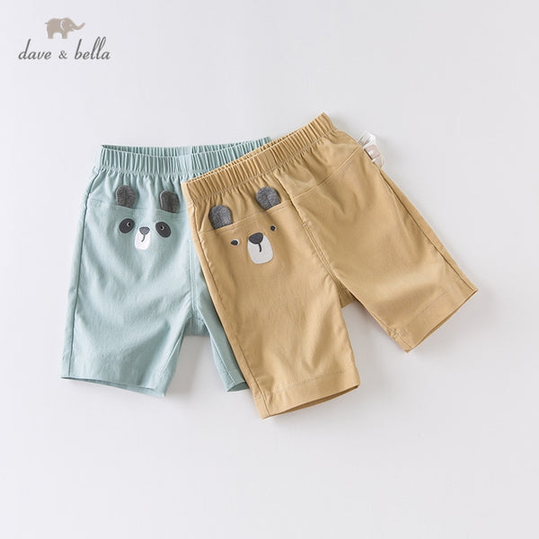 DBW14086 Summer Baby Boys Fashion Cartoon Pants Handsome