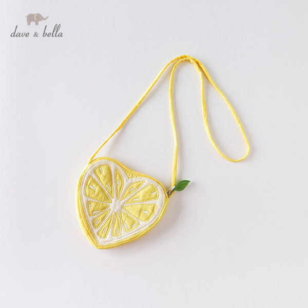 DBJ13890 Baby Girls Fashion Lemon Shoulder Bag Cute Girls Purse | KIDZOYA