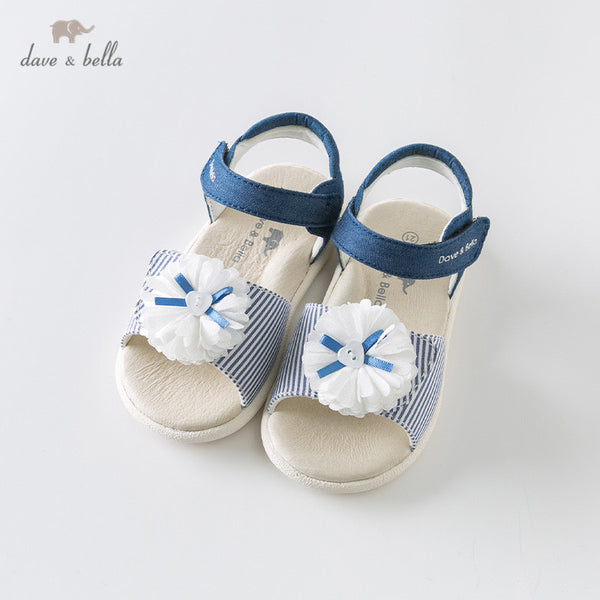 DB12634 summer baby girls fashion sandals new born infant shoes