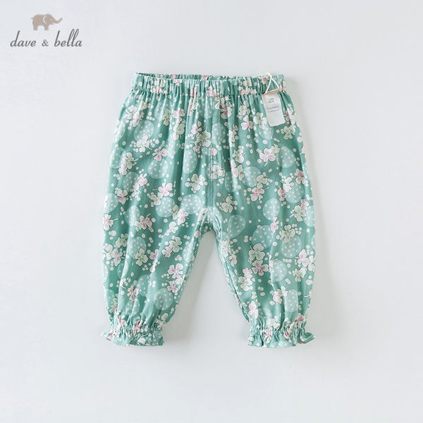 DBZ14068 Summer Baby Girl Pants Children Kids Pants Infant Trousers | KIDZOYA