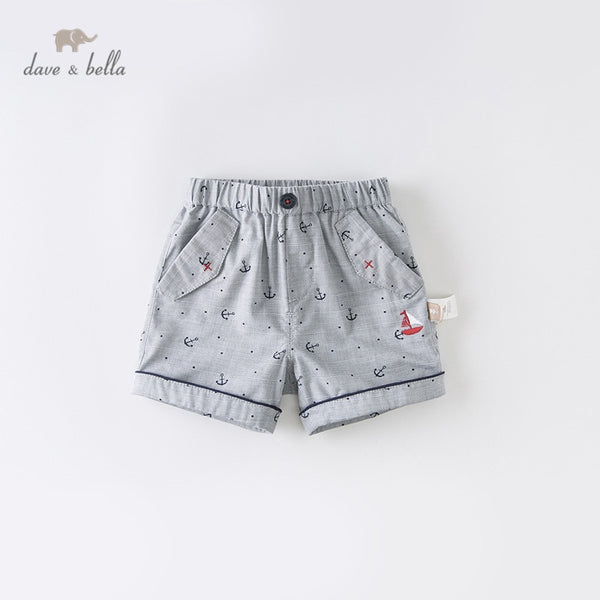 DBX13160  Summer Baby Boys Fashion Print Pockets Shorts Kids | KIDZOYA